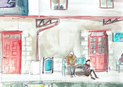 dibujatolrato Estación Atxuri